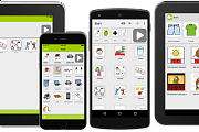 various mobile devices with letme talk